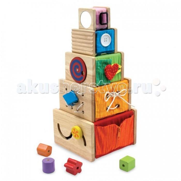 Деревянная игрушка Im toy Набор для изучения цвета, форм и размеровНабор для изучения цвета, форм и размеровВ комплект входит 5 коробочек различной величины, 5 разноцветных объемных геометрических фигурок-кубиков и шнурок (80 см).  Коробочки и геометрические фигурки сделаны из дерева. Чехлы на коробочках – тканевые, крепятся на коробочках при помощи липучек, их можно легко снять, а потом опять прикрепить.   Эта разносторонне развивающая игрушка доставит массу удовольствия малышу. В коробочках можно что-то прятать, их можно составлять в пирамидку, а можно играть с яркими поверхностями, заодно изучая цвета.  Размер большой коробки: 17 х 17 х 11 см.  Размер маленькой коробки: 6 х 6 х 6 см.<br>