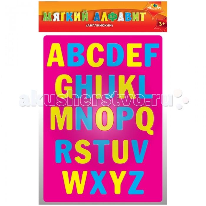 Пазлы Апплика Мозаика мягкая Алфавит Английский из самоклеящегося мягкого пластика EVA апплика пазл для малышей английский алфавит цвет основы желтый