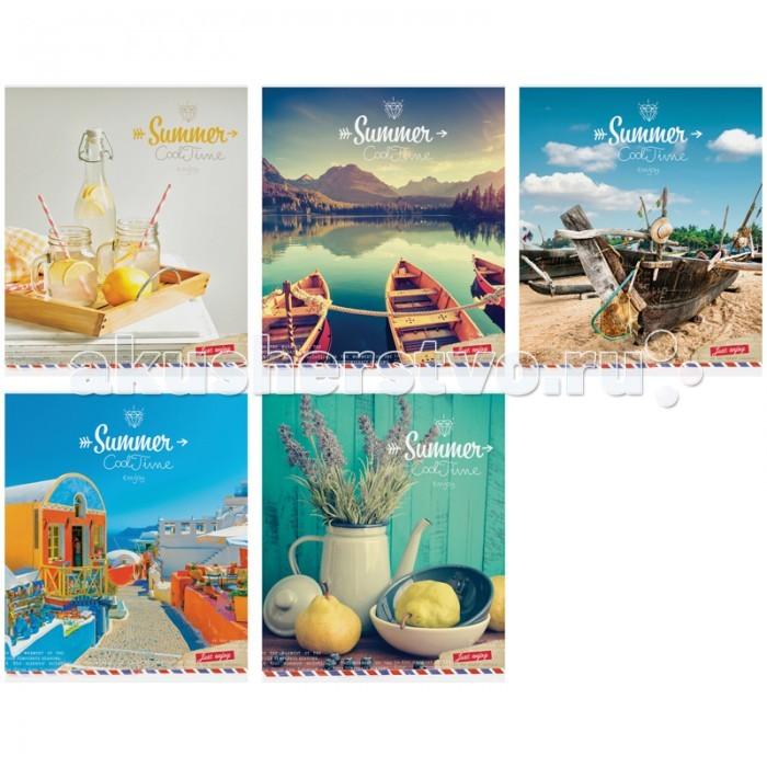 Тетради Спейс Тетрадь А5 клетка Стиль Summer Cool time (48 листов) тетрадь seventeen 48 листов формат а5 цвет бирюзовый фиолетовый