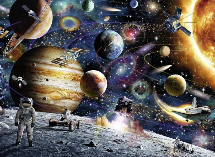 Пазлы Ravensburger Пазл Открытый космос XXL 150 элементов пазлы magic pazle объемный 3d пазл эйфелева башня 78x38x35 см