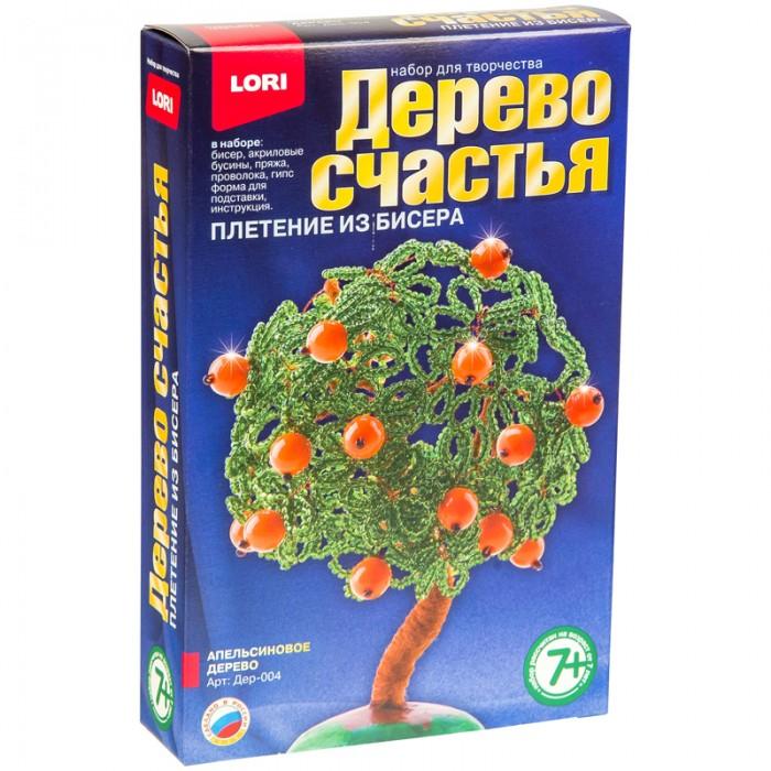 Наборы для творчества Lori Набор для рукоделия - Дерево счастья Апельсиновое дерево всё для лепки lori пластилин классика 16 цветов