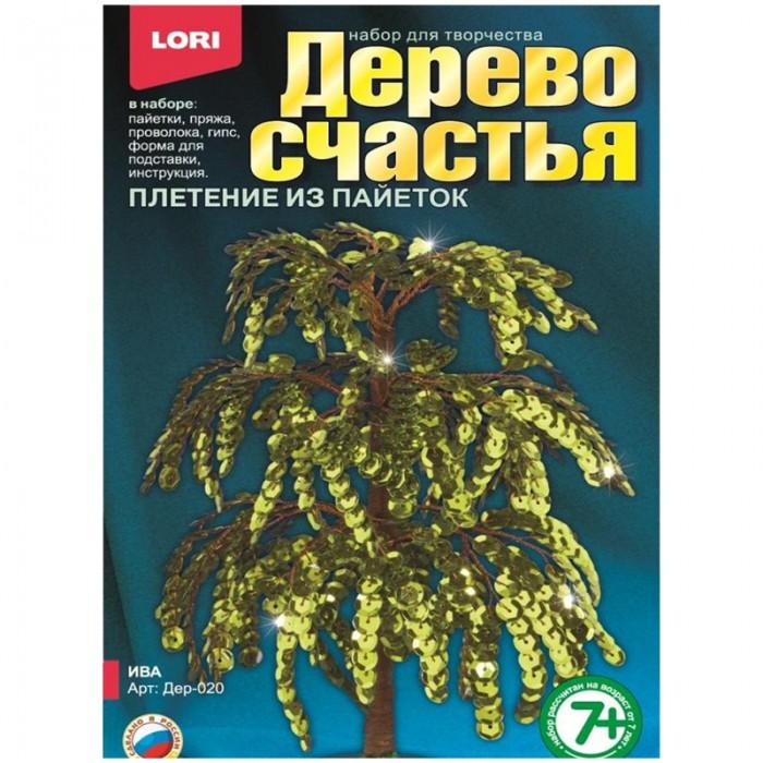 Наборы для творчества Lori Набор для рукоделия - Дерево счастья Ива lori магниты из гипса золушка lori