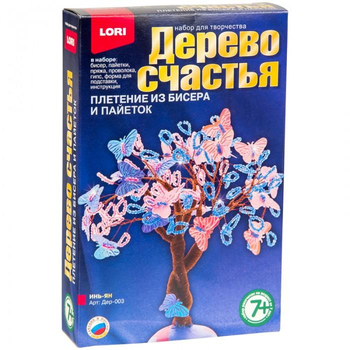 Наборы для творчества Lori Набор для рукоделия - Дерево счастья Инь-ян всё для лепки lori пластилин классика 16 цветов