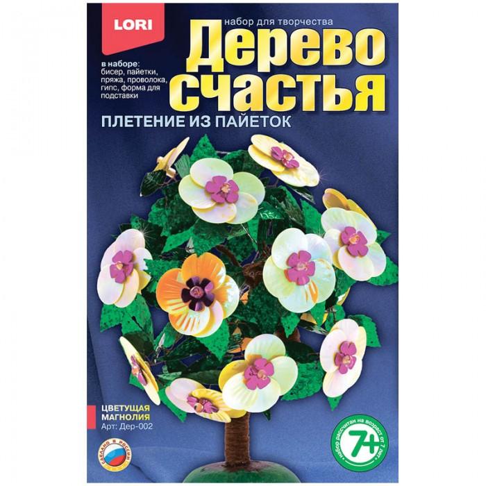 Наборы для творчества Lori Набор для рукоделия - Дерево счастья Цветущая магнолия lori фоторамки из гипса фрукты