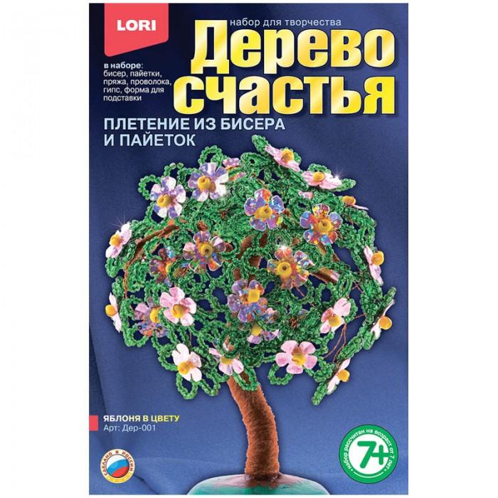 Наборы для творчества Lori Набор для рукоделия - Дерево счастья Яблоня в цвету lori фоторамки из гипса фрукты