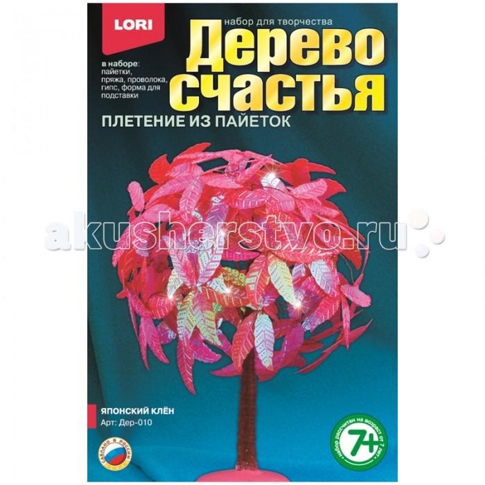 Наборы для творчества Lori Набор для рукоделия - Дерево счастья Японский клён наборы для творчества lori набор для изготовления магнитов из гипса коралловые рыбки