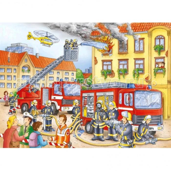 Пазлы Ravensburger Пазл На пожаре 100 элементов