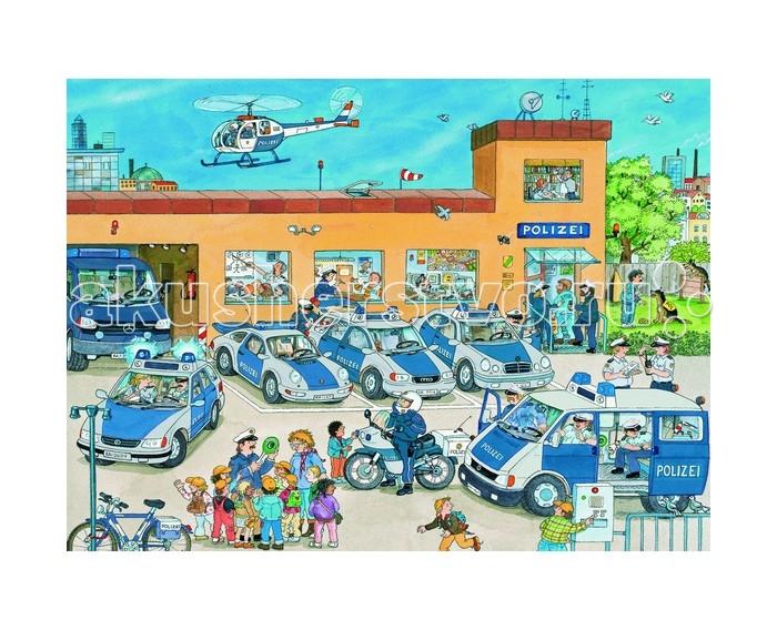 Ravensburger Пазл Полицейский участок XXL 100 элементов