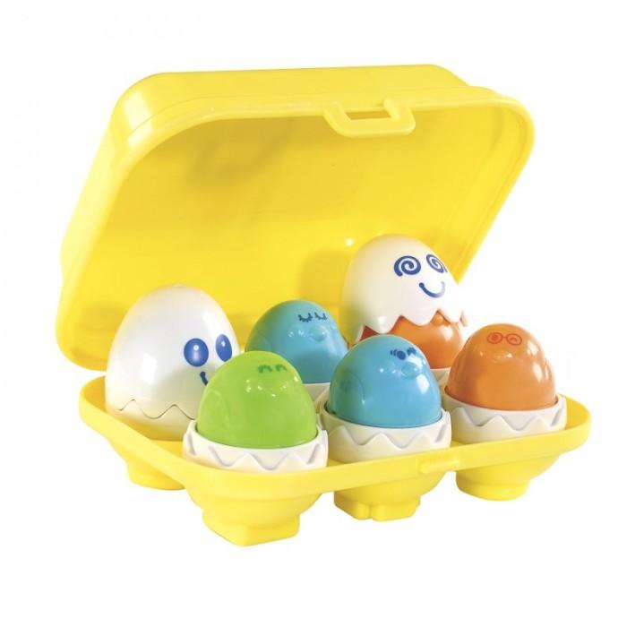 Сортеры Tomy Игровой набор Найди пищащие яйца 1581 tomy игровой набор приключения трактора джонни и поросенка на ферме с 18 мес