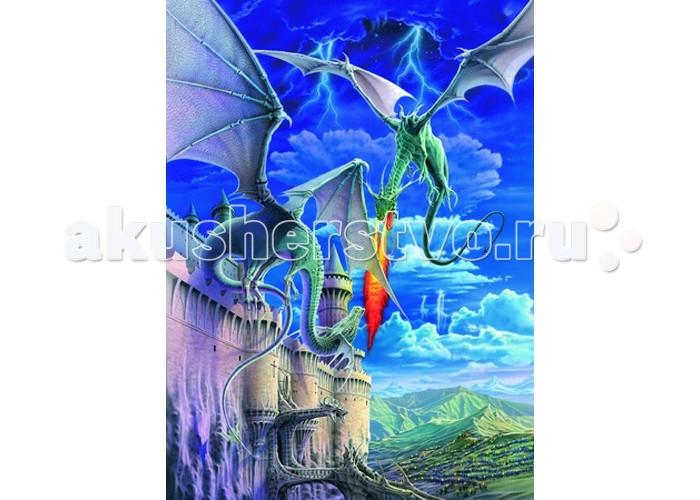 Пазлы Ravensburger Пазл Огнедышащий дракон XXL 300 элементов цена