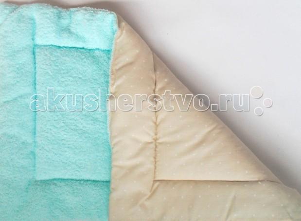 Фото Подушки для малыша Папитто Подушка грудничковая махровая 40х60 см