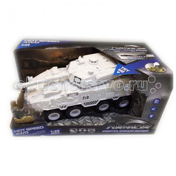 Машины Yako Танк инерционный 4WD 1:28 Y12318513 игрушка танк