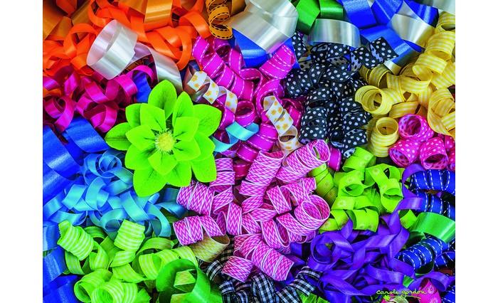 Пазлы Ravensburger Пазл Цветные ленты 500 элементов пазлы ravensburger пазл прима балерина 500 элементов