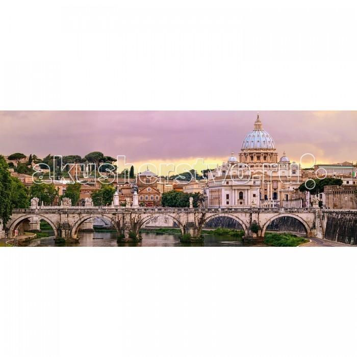 Пазлы Ravensburger Пазл панорамный Рим 1000 элементов пазл 1000 томас кинкейд мост 57466