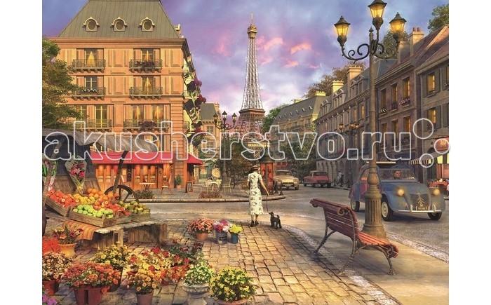 Пазлы Ravensburger Пазл Старый Париж 1500 элементов ravensburger пазл черно белый париж