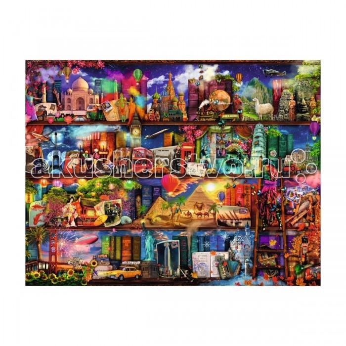 Ravensburger Пазл Книжный мир 2000 элементовПазл Книжный мир 2000 элементовRavensburger Пазл Книжный мир 2000 элементов 16685  Пазл Книжный мир - это прекрасный набор для сборки красочной картины, состоящей из 2000 элементов. На готовой картинке можно увидеть книжные полки, которые открывают удивительный мир книг. Благодаря чтению можно мысленно побывать во всех точках нашей планеты и увидеть чудеса, недоступные в повседневной жизни. Такой яркий пазл привлечет внимание не только детей, но и взрослые с удовольствием будут собирать детали головоломки.  Подобные занятия способствуют развитию образного мышления, усидчивости, внимательности и координации движения.  Размер собранного поля: 98 х 75 см.<br>