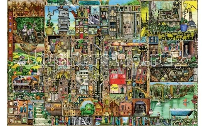 Пазлы Ravensburger Пазл Странный город 5000 элементов