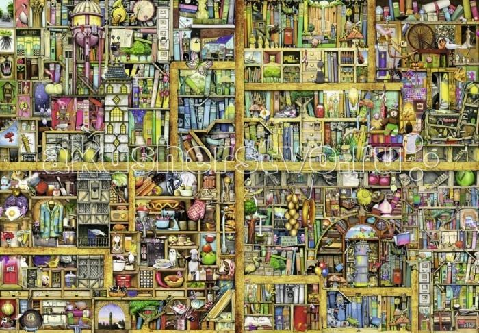 Ravensburger Пазл Волшебный книжный шкаф XXL 18000 элементов