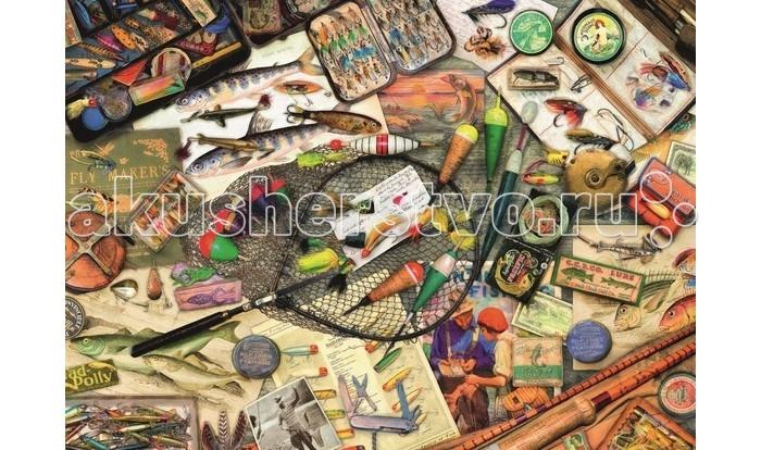 Пазлы Ravensburger Пазл Коллекция рыбака 1000 элементов ravensburger маки тосканы пазл триптих 1000 элементов