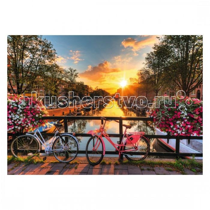 Пазлы Ravensburger Пазл Велосипеды в Амстердаме 1000 элементов дорожные велосипеды стелс в подольске