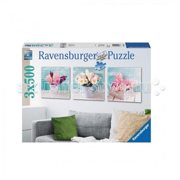 Ravensburger Пазл Цветочное очарование 3х500 элементов