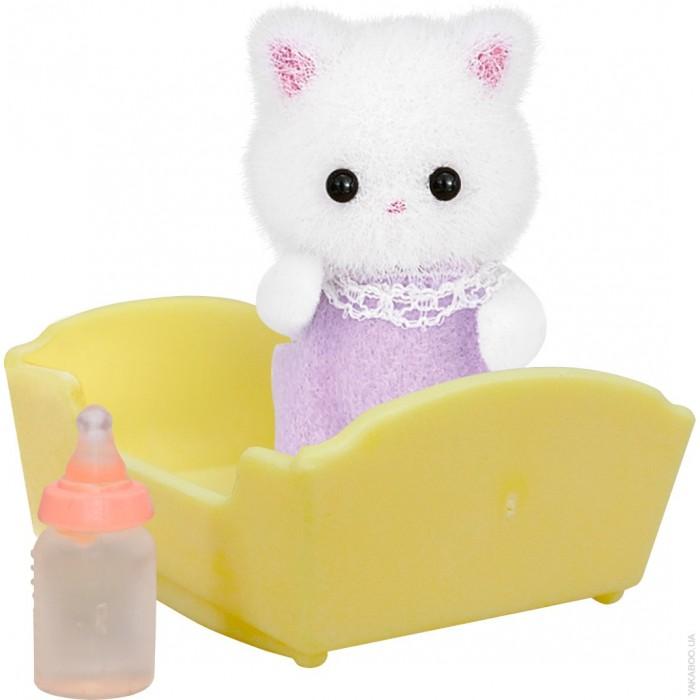 Игровые наборы Sylvanian Families Набор Малыш персидский котёнок