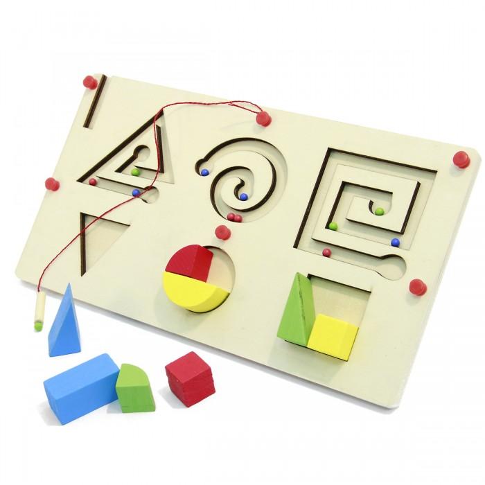 Деревянные игрушки Фабрика фантазий Игрушка  лабиринт сортер, магнитная 8 деталей  42207 деревянные игрушки фабрика фантазий сортер бабочка