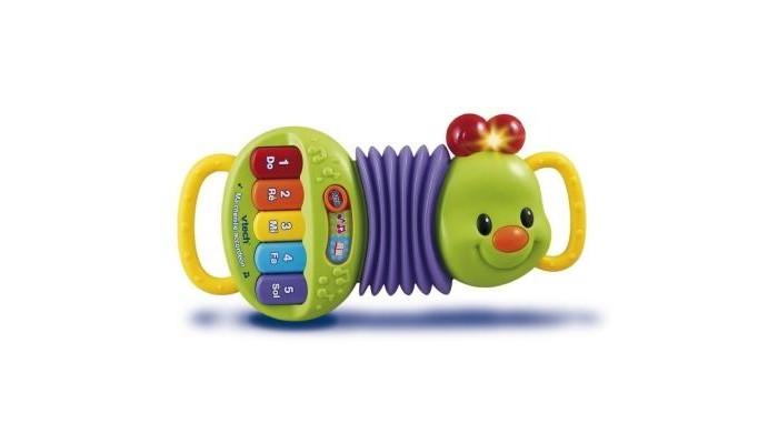 Музыкальная игрушка Vtech Аккордеон 80-118626Аккордеон 80-118626Развивающая игрушка Аккордеон Vtech теперь ваш малыш сможет играть свои любимые песенки из мультфильма Чебурашка и Крокодил Гена ( Голубой вагон,  Песенка крокодила Гены) . Игрушка со световым и звуковым звуковым эффектом , поможет ребенку развивать мышцы рук , слух и тренировать моторику пальцев .<br>