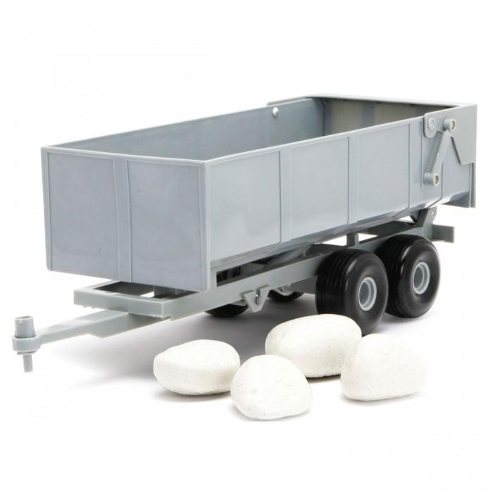 Игровые наборы Tomy Прицеп-самосвал + камни игровые наборы tomy britains big farm фермерский прицеп со свинками