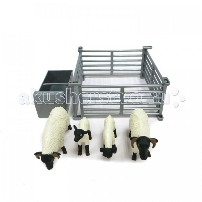 Игровые наборы Tomy Набор овцы в загоне игровые наборы tomy britains big farm фермерский прицеп со свинками