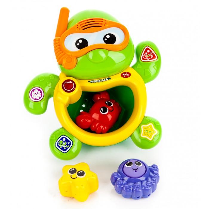 Игрушки для ванны Vtech Игрушка для купания Плавающая черепаха 80-113426 игрушки для ванны vtech игрушка для купания плавающая черепаха 80 113426