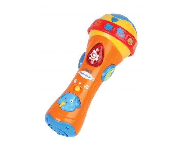 Музыкальные игрушки Vtech Микрофон 80-078726 электронные игрушки vtech обучающий телефон маленькой принцессы 80 069226