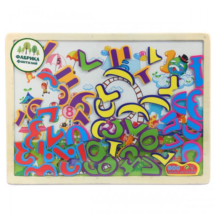 Деревянные игрушки Фабрика фантазий Доска магнитная с пазлами 41793 игрушки для детей