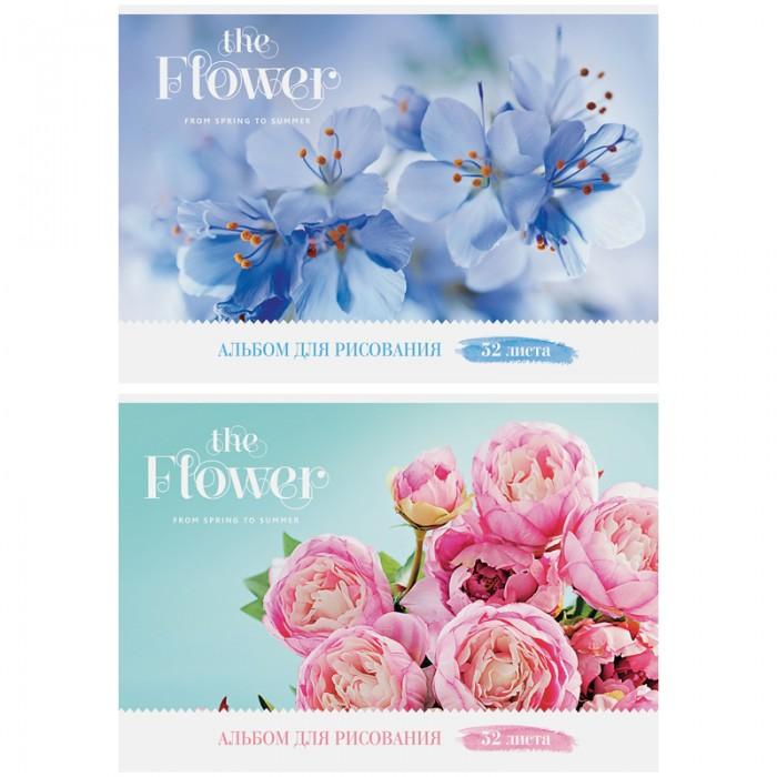 Принадлежности для рисования Спейс Альбом для рисования Цветы The flower 32 листа the art of kentaro nishino зайчики лицензия альбомы для рисования гребень 40 листов
