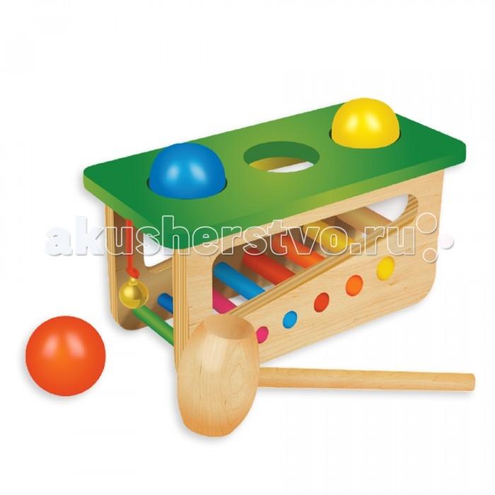 Музыкальные игрушки Фабрика фантазий Забивалка-ксилофон 47489 музыкальные игрушки