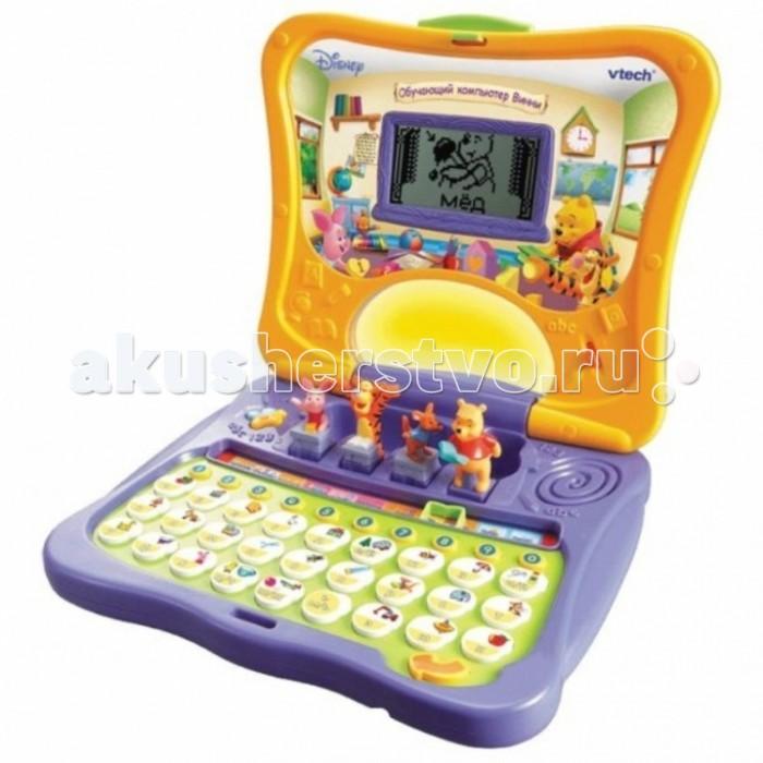 Электронные игрушки Vtech Обучающий компьютер Винни 80-069126 (6) электронные игрушки vtech обучающий телефон маленькой принцессы 80 069226