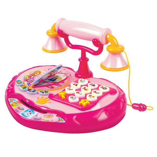 Vtech Обучающий телефон маленькой принцессы 80-069226Обучающий телефон маленькой принцессы 80-069226Обучающий телефон маленькой принцессы Vtech поможет ребенку выучить цифры и новые слова , а любимые персонажи из мультфильмов помогут сделать обучение привлекательным.   Световые и звуковые эффекты перенесут вашу маленькую принцессу в мир волшебства и сказок.   Учим:  Учим цифры Тренируем память  Слушаем мелодии   Особенности: 5 обучающих программ  10 светящихся кнопок 4 принцессы из мультфильмов  Телефонная книжка с переворачиваемыми страницами  Возможность общения с принцессами<br>