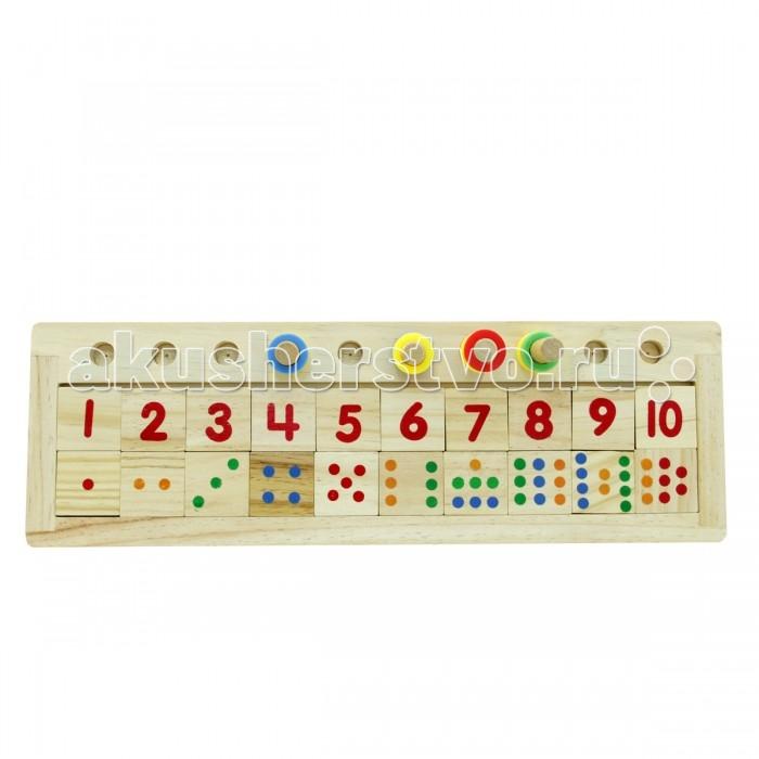 Деревянные игрушки Фабрика фантазий Счет 47482 деревянные игрушки фабрика фантазий сортер бабочка