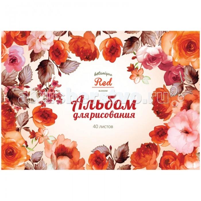 Принадлежности для рисования Спейс Альбом для рисования Цветы Sweet flower 40 листов альбом планшет для профессионального рисования европа 50 листов гребень с1726 04