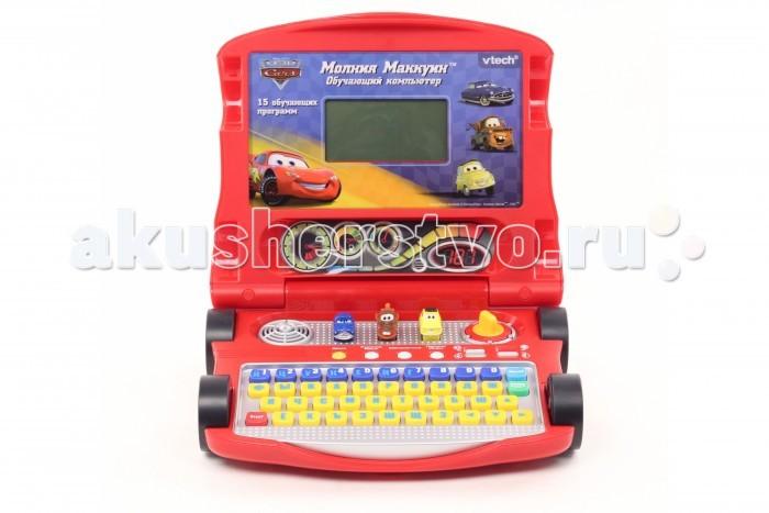 Электронные игрушки Vtech Обучающий компьютер Молния Маккуин 80-075926 электронные игрушки vtech обучающий телефон маленькой принцессы 80 069226