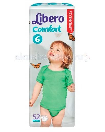 Подгузники Libero Подгузники Comfort (12-22 кг) 52 шт. подгузники libero comfort 6 12 22 кг 104 шт