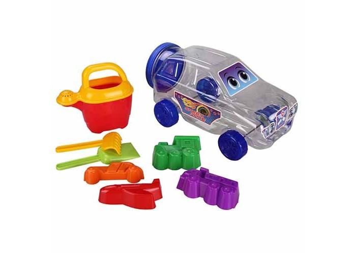 Игрушки для зимы Альтернатива (Башпласт) Набор детский для игры с песком Джип каталки альтернатива башпласт слонёнок