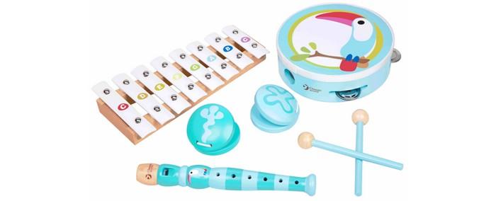 Музыкальные игрушки Classic World Набор музыкальных инструментов Тукан classic world классический самолет 27 деталей