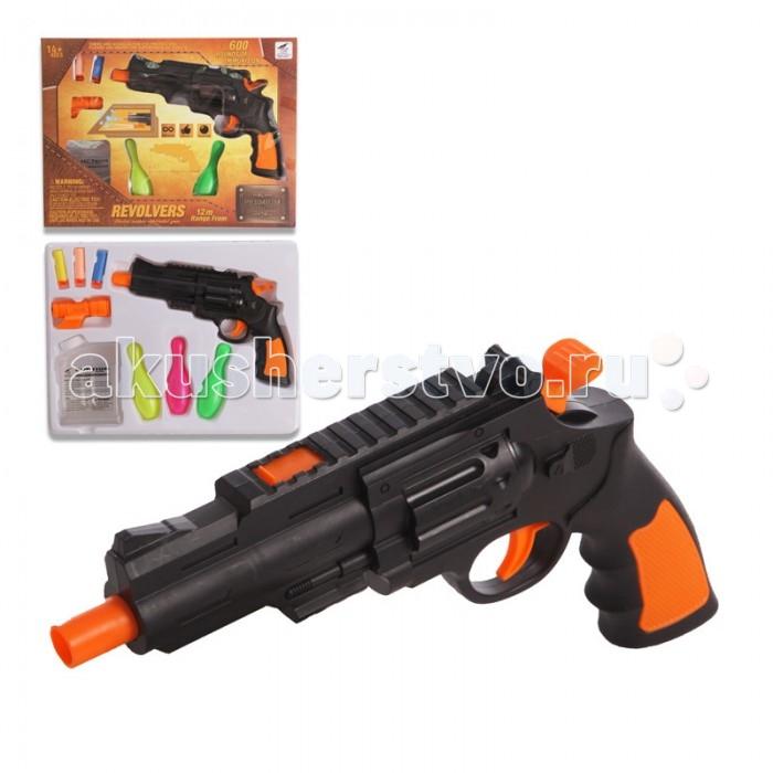 Игрушечное оружие Yako Игрушечный пистолет с мягкими пульками Y4416874 кукла yako m6579 6