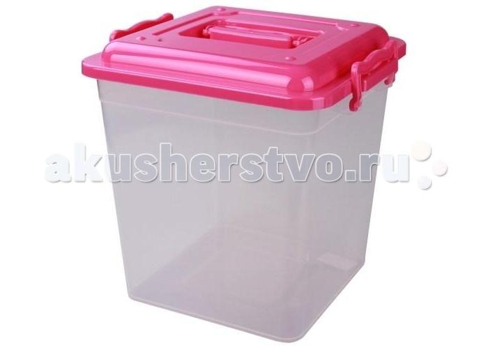 Ящики для игрушек Альтернатива (Башпласт) Контейнер квадратный 12 л контейнер пищевой вакуумный bekker квадратный 2 28 л