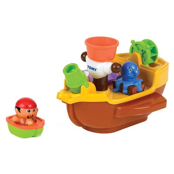 Игрушки для ванны Tomy Игрушка для купания Пиратский корабль игрушки для ванны сказка игрушка для купания транспорт