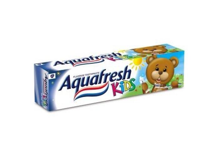 Гигиена полости рта Aquafresh Детская Зубная паста Kids 50 мл. aquafresh зубная щетка hd зубная паста отбеливающая aquafresh 75 мл
