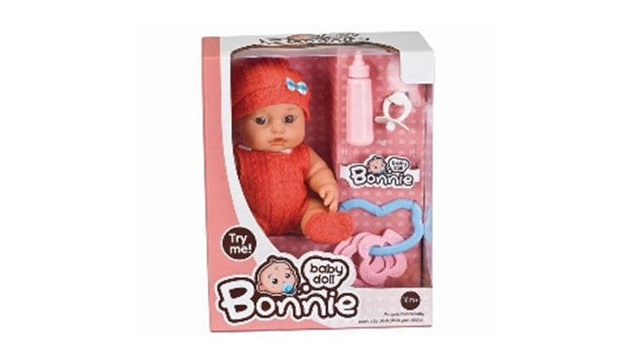 Куклы и одежда для кукол Yako Пупс со звуком 25 см Y4071661 куклы и одежда для кукол simba пупс 38 см 5032533
