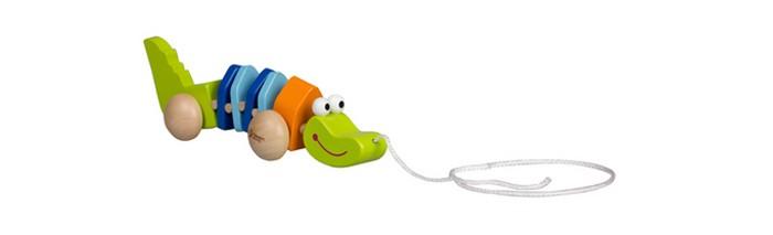 classic world из дерева создай свой собственный гараж Каталки-игрушки Classic World Крокодильчик