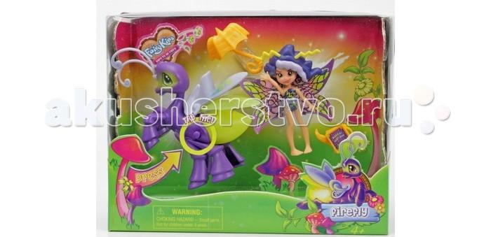 Игровые наборы Fairykins Игровой набор - Фея Вольтесса и Светящийся Мотылек игровые наборы tomy игровой набор приключения трактора джонни и лошади на ферме